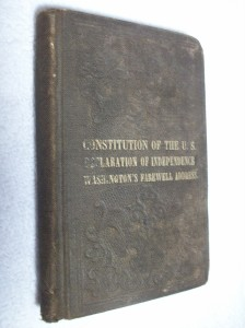 """The Constitution of the United States"", published by Benjamin B. Russel, Boston, 1811."
