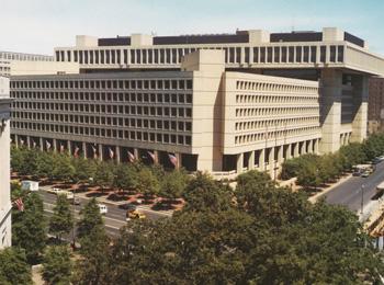 Edgar J. Hoover Bulding:  FBI Headquarters, Washington, D.C.