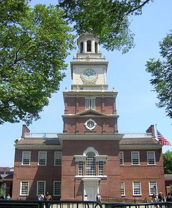 Independence Hall, Philadelphia, USA