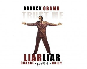 Obama Liar - Popular art abounds, about Obama, on the net: it's just not the image he was working for.