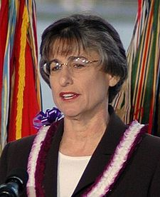 Hawaii Governor Linda Lingle