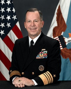 Admiral Michael Mullen became Chairman of the Joint Chiefs of Staff on October 1, 2007, after serving as Chief of Naval Operations and Navy Commander in several areas of the world
