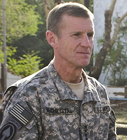 General Stanley A. McChrystal was given his current assignment in Afghanistan just over a year ago on June 15, 2009, by the man usurping the presidency.  Therefore, his appointment and all other military appointments and directives have been illegally given and followed.