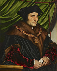 Sir Thomas More refused to take an oath of allegiance to King Henry VIII of England, who had split from the Roman Catholic church to set up the Church of England. In 1535, More was tried for treason, convicted and beheaded. He was later sainted by the Catholic church