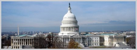 "Photo of the Capitol at the website for the CRS, which states, ""As a legislative branch agency within the Library of Congress, CRS has been a valued and respected resource on Capitol Hill for nearly a century."""