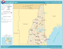 "New Hampshire was the first colony to declare independence from Great Britain in 1776 and is located in the northeast section of the country known as ""New England."""
