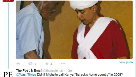 """Is Obama Traveling to His """"Home Country"""" in July?"""