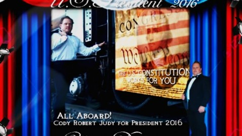 It Is Official!  Cody Robert Judy for President 2016 pb