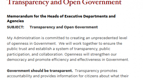 """Flashback Exclusive:  Obama in 2003:  """"The Public Needs to Know What Its Public Officials Are Up To"""""""