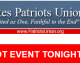 Urgent!  Special Event Tonight at 8:30 PM ET