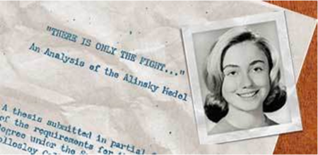 hillary college thesis One of hillary clinton's great mentors was communist organizer saul alinsky, whose philosophies still permeate hillary's political politics today how big of an influence was alinsky to hillary enough that she chose to write her 92-page thesis at wellesley college about him during hillary's.