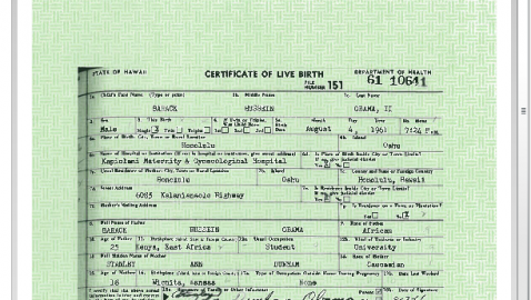 Is Barack Hussein Obama a Naturalized Citizen?